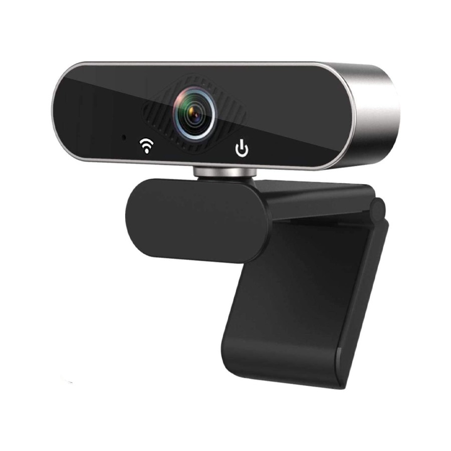 Webcam with Microphone, 1080P HD